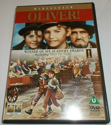 Oliver DVD - widescreen - Mark Lester, Ron Moody, Oliver Reed - 1968