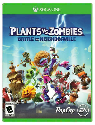 Plants Vs Zombies Battle For Neighborville Microsoft Xbox One Video Game New