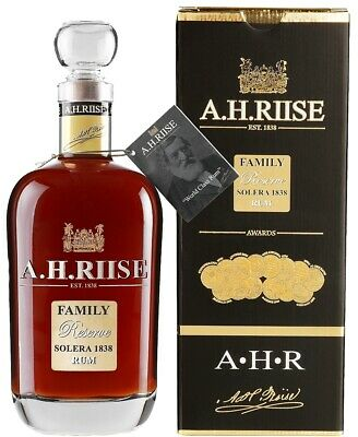 A.H. Riise Family Reserve Solera 1838 Rum  0,7L | Rum