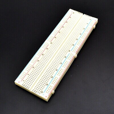 MB-102 830 Solderless Breadboard Tie Points 2 buses Test Circuit for Arduino
