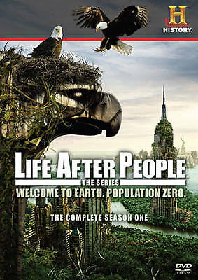 Life After People The Series - The Complete Season One (DVD, 2009, 3-Discs)  EUC
