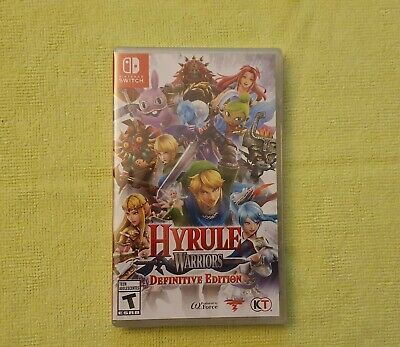 Hyrule Warriors Definitive Edition Nintendo Switch Awesome Game Brand New Sealed