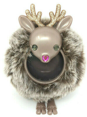 Bath & Body Works Fuzzy Reindeer Scentportable Holder Visor Clip Car Freshener