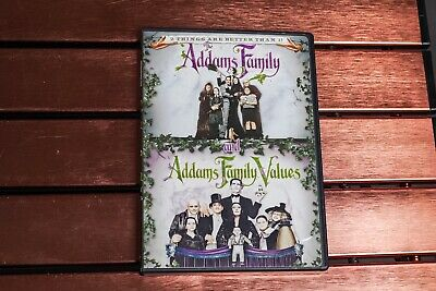 The Addams Family and Addams Family Values DVD