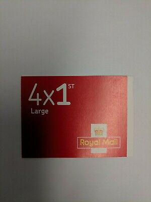 4 x Large First class Royal mail stamps Letter Self Adhesive