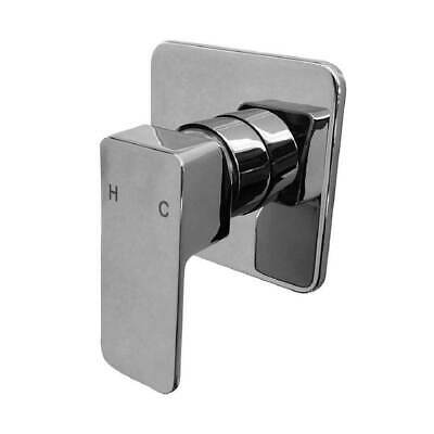 New Castano Urbino Chrome Bathroom Shower Wall Mixer URWAC