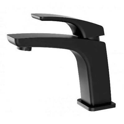 New Basin Mixer Black Slimline Bathroom Vanity Tap Phoenix Tapware Rush RU770MB
