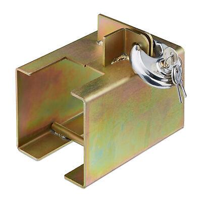 Hitch Lock Trailer Anti-theft Security Coupling Lock Coupler Box Lock Steel