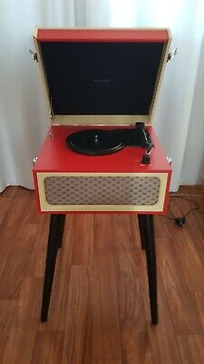 Retro Style Turntable Record Player