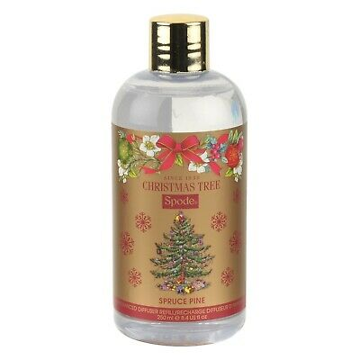 Spode Portmeirion CHRISTMAS TREE Reed Diffuser Refill SPRUCE PINE ~ Large 250ml