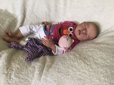 Reborn baby girl Addie by C. Fanout