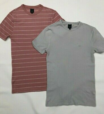 2 x Men's or Boy's T-Shirts from River Island Size XXS & XS
