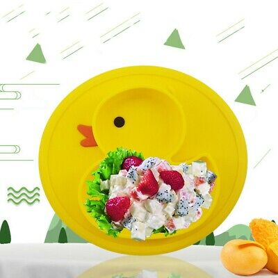 Cute Non-Slip Silicone Animal Color Silicone Placemat Children's Placemat Plate