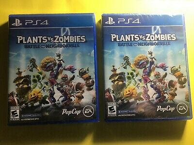 Plants vs. Zombies: Battle for Neighborville (Sony PlayStation 4, 2019) PS4
