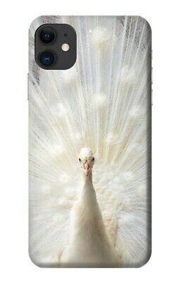 S1980 White Peacock Case for IPHONE Samsung Smartphone ETC