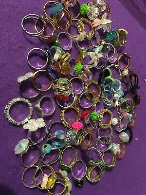 Over 70 Adjustable Ready Made Rings .Jewellery Findings.