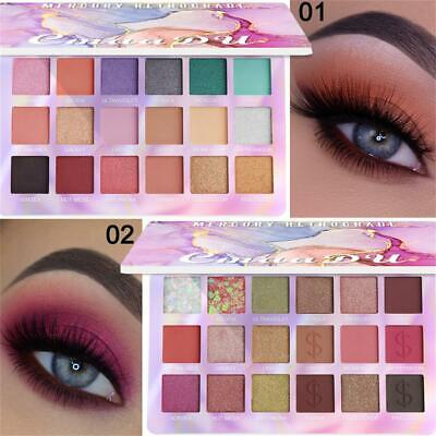 Eye Shadow Highlighter Pigmented Eyeshadow Palette Matte Pearlescent  Shimmer