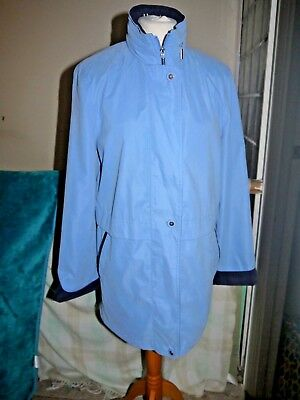 Gorgeous jacket, M & S, MARKS & SPENCER, size 10, loose fit, hooded