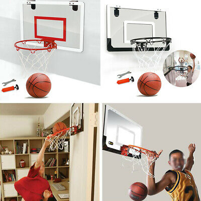 "18"" 45cm Basketball Ring Hoop Net Full Size Wall Mounted Outdoor Indoor Hanging"