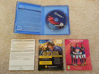 FIFA 19 PS4 PLAYSTATION 4 - Excellent Condition - NO SCRATCHES