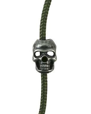 Kombat Skull Cord Stoppers Skeleton Cord Locks Use With Paracord 10 Pack Camping