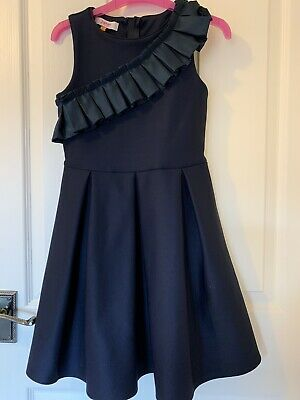 Stunning Girls Ted Baker Dress Age 9, Occasion, Party, Wedding, Christening.