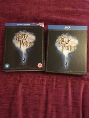 Harry Potter Complete 8 Film Blue Ray Box Set