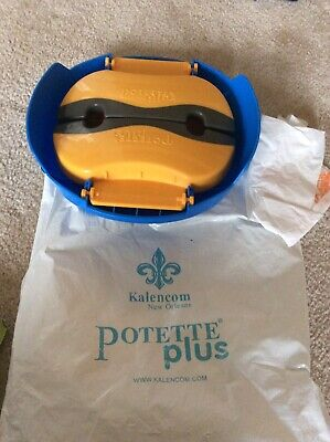 Potette Plus Toddler Port-A-Potty Travel Car 2-in-1 Kids Toilet Seat with Bags!