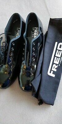 Mens Ballroom Dance shoes. Freed of London. NEW. With New Bag. Never even laced