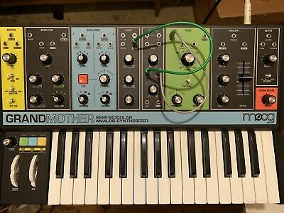 Moog Grandmother W/ Box & Patch Cables