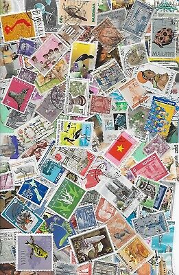 50g WORLD STAMP MIXTURE/KILOWARE OFF PAPER. GREAT LOT FOR SORTING/THEMATICS # 9