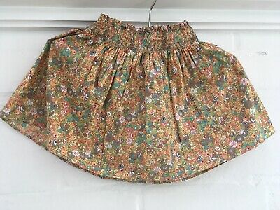 Bonpoint Floral Summer Girl Skirt Size 4 Years Old