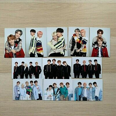 SEVENTEEN 2018 Ideal Cut in Japan official photo card pair/unit (select option)