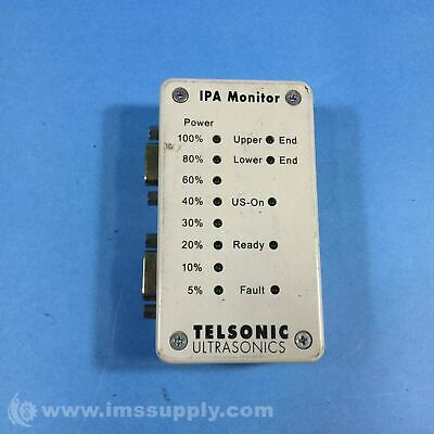 Telsonic IPA Monitor Integrated Actuator Unit Monitor USIP