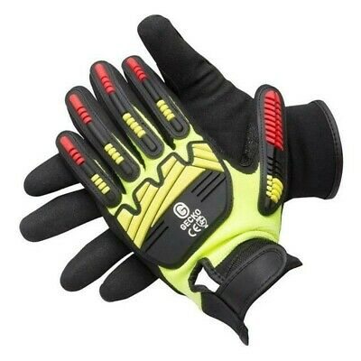 Gecko 561134 Top Protect Work Gloves Pair Size 9 Large  THREE PAIRS