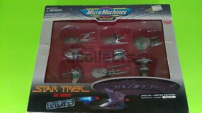 Star Trek Micro Machines Model Ships, 3 Sets Complete In Box, TV Series & Movies