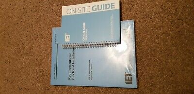 IET Wiring Regulations Book 18th Edition BS 7671 and on site guide