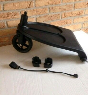 Bugaboo wheeled board fits Bugaboo cameleon and frog with adapters and cord
