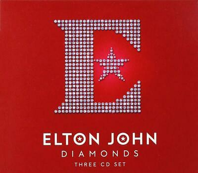 Elton John : Diamonds CD Deluxe  Box Set 3 discs (2019) NEW SEALED