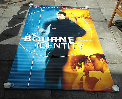 THE BOURNE IDENTITY (2002) - Double Sided Canvas Cinema Banner