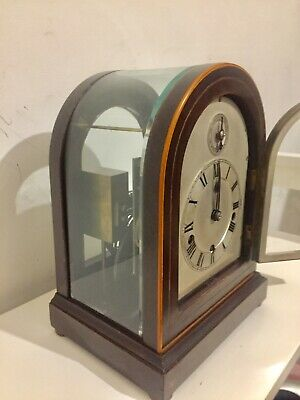 Extremely Rare Small Size W&H Dual Chime 9 Gongs Bracket Clock C1900!