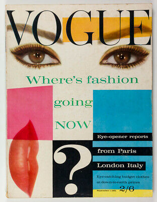 Brian Duffy MAX ERNST Italian Collections HENRY CLARKE Vogue 1st September 1961