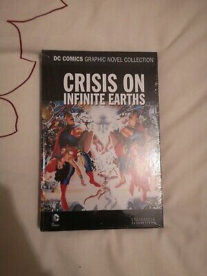 Eaglemoss Dc Comics Graphic Novel Collection Special Crisis On Infinite Earths
