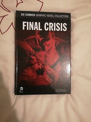 Eaglemoss Dc Comics Graphic Novel Collection Special Final Crisis