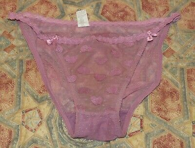 Pinkie Purple see through Knickers