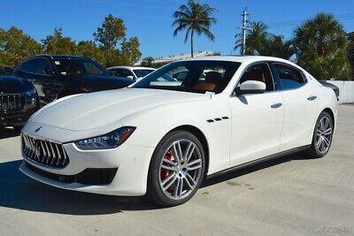 2019 Maserati Ghibli S Certified CPO 20 Urano Wheels Red Calipers Summer Tires High Gloss Ebano Wood Extended Leather