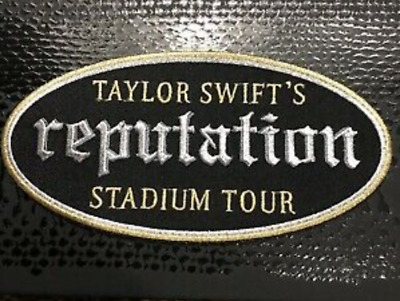 NEW Taylor Swift Reputation Stadium Tour Patch Black & Gold T Swift