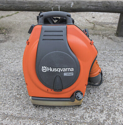 Husqvarna 356BTx Back Pack Blower (Low Noise), Serviced