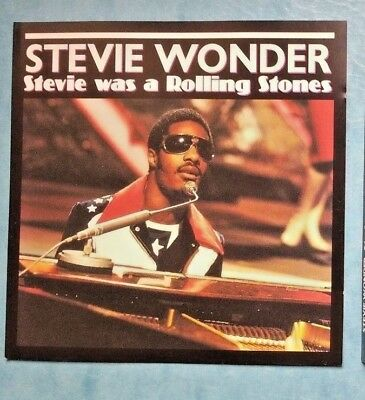 Stevie Wonder ‎– Stevie Was A Rolling Stones-nyc 1972-rare japan sliver cd 2000