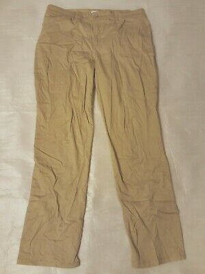nwt Womans Gloria Vanderbilt Pants tan size 10 short Luxe Sateen stretch